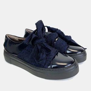 AGL Attilio Giusti Leombruni Bow Platform Sneakers